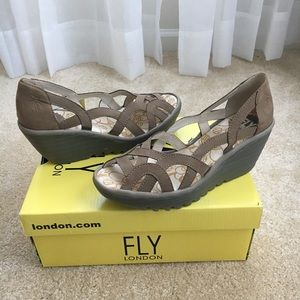Genuine Fly London sandals